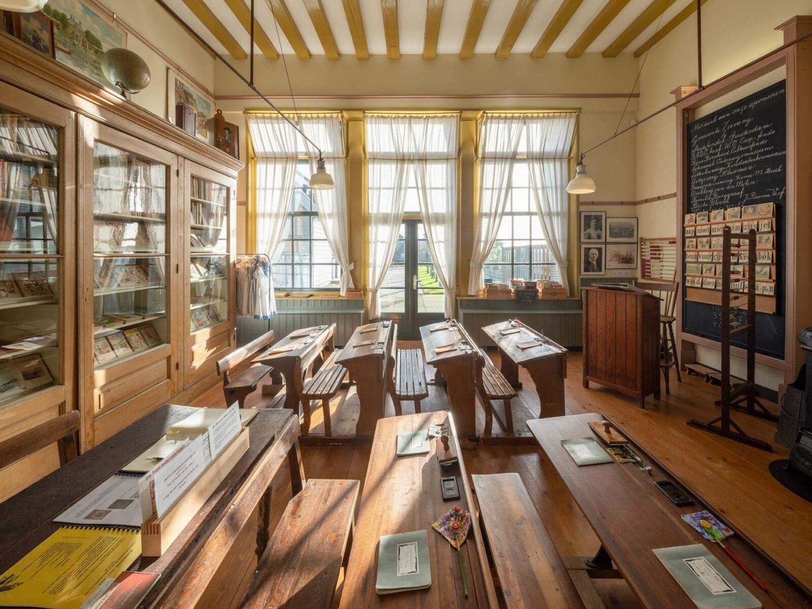 Schooltje Dik Trom - Voorbeeldprojecten Steunpunt Monumenten & Archeologie